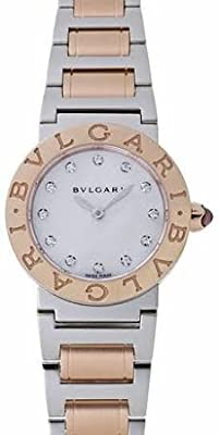 Bvlgari Bvlgari Mother of Pearl Dial 18kt Rose Gold Stainless Steel Ladies Watch BBL26WSPG-12