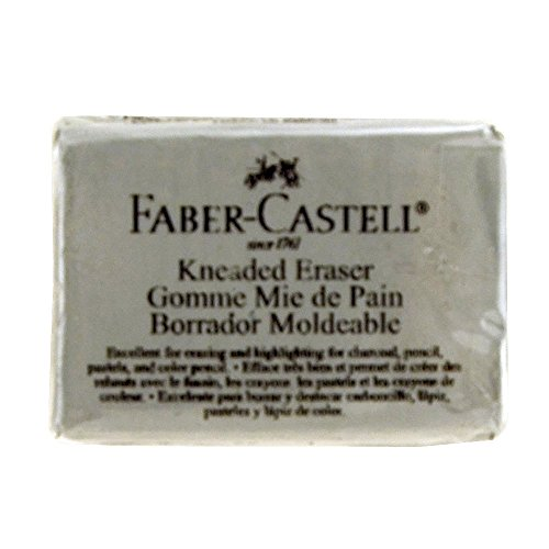 Faber-Castell Kneaded Eraser, Large, Grey (FC587531)