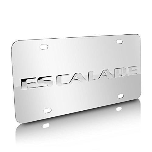 Cadillac Escalade Chrome License Plate