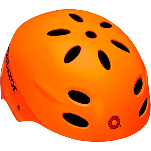 Razor V-17 Youth Muli-Sport Helmet, Neon Orange