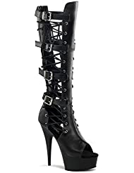 Pleaser Womens DELIGHT-699/B/PU Platform sandal