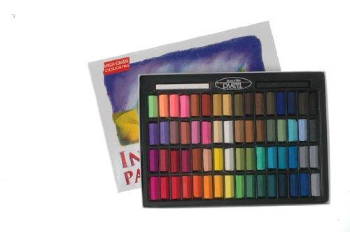 Inscribe - Set di gessetti da disegno, 64 colori IMPS64