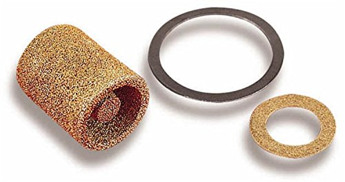 Inlet Filter - Holley 162-500 Brass Carburetor Fuel Inlet Filter - Pack of 2