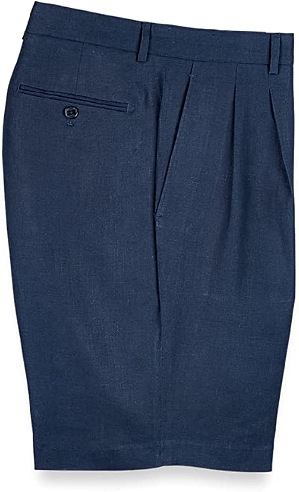 Paul Fredrick Ranking TOP12 Men's Linen Shorts In a popularity Pleated