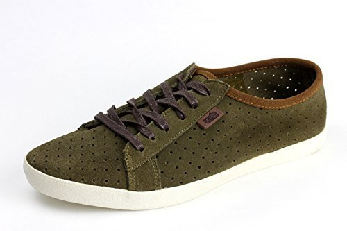 Hombre Zapatos De Piel Con Cordones Informal Ante verano Cómodo Moderno Mocasines Verde