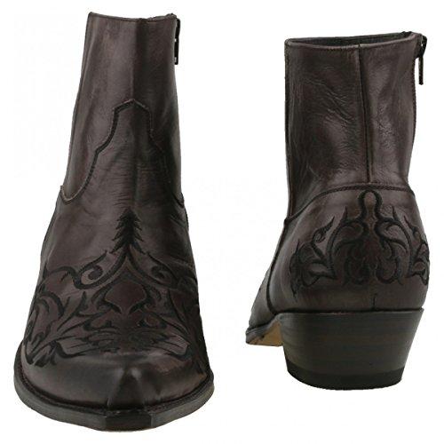 Sendra Boots, Stivali western uomo Grigio (Antracite)