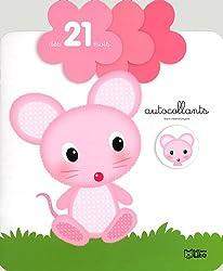 Autocollants Petite Fleur : la Petite Souris - Dès 21 mois