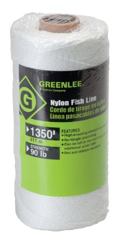 Greenlee Textron 607 Nylon Fish Line, 90-Pound