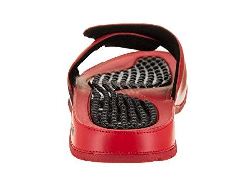 Nike Mens Hydro V Retro Synthetic Sandals University Red Black