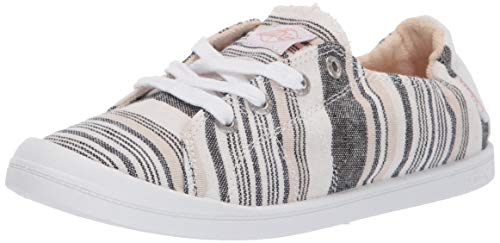 - Roxy Women's Bayshore Slip on Shoe Sneaker, New Light Multi 6 Medium US