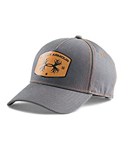 Under Armour Men's UA Antler Patch Cap One Size Fits All Graphite