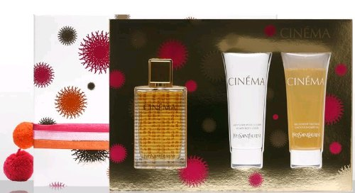 Cinema Perfume By Yves Saint Laurent Gift Set For Women 35ml Eau De