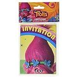 Trolls Invitations, 8ct