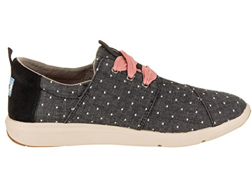 Toms Womens Del Rey Sneaker Black Dot