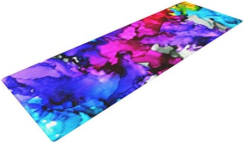 Kess InHouse Claire Day Yoga Exercise Mat
