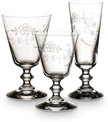 Cristallin Villeroy /& Boch Vieux Luxembourg Verre /à Vin Blanc Transparent 190 ml Lot de 4