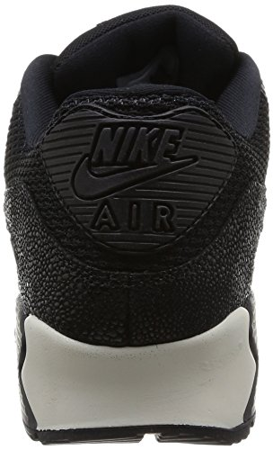 Nike Air Max 90 Stingray, Hombre Entrenamiento Zapatillas Negro - Black (Black/Black/Black/Sea Glass 001)