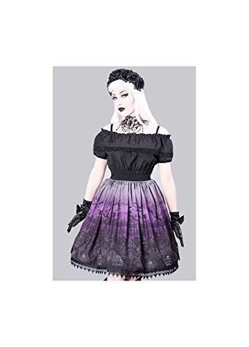 Msci ha diseño gótico Lolita rígida para faldas