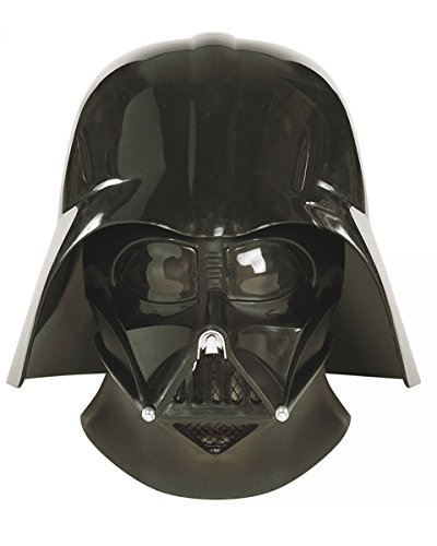 Decade Themed Party Costumes (Star Wars: Super Deluxe Darth Vader Mask and Helmet)