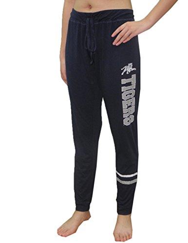 (JACKSON STATE TIGERS Womens NCAA Lounge / Yoga Pants L Dark Blue)