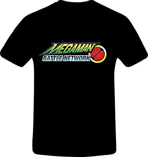 Mega Man Battle Network, Custom Tshirt (M, BLACK)