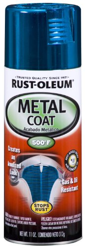 Rust-Oleum Automotive 251582 11-Ounce Metal Coat Spray, Blue