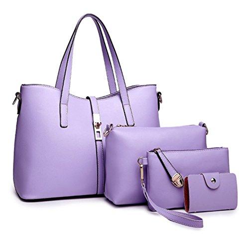 MAIN femmes et Nouveau EPAULE main style Sac à Keshi Porté Pu Violet 8x1qTWf