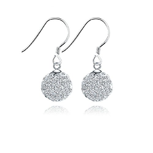 Sterling Shambhala Crystal Necklace Earrings