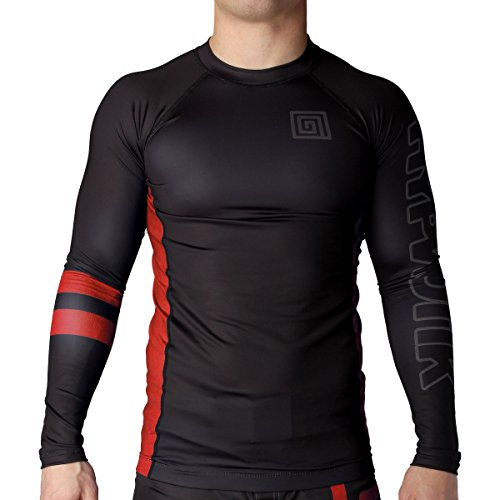 Hypnotik The Standard Jiu Jitsu BJJ Crossfit Rashguard Compression Shirt
