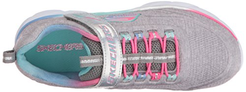 Skechers Mädchen Swirly Laufschuhe grau - rosa - blau