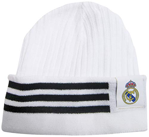 adidas Real Madrid Official Soccer Knit Beanie Hat/Cap