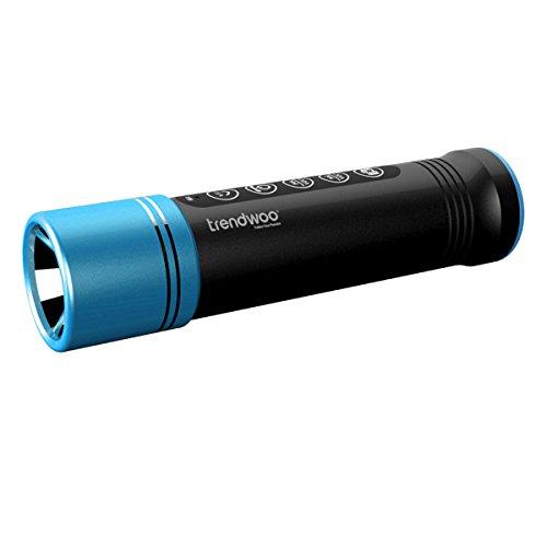 Trendwoo Outdoor Bicycle Bluetooth Speakers Waterproof Rechargeable LED