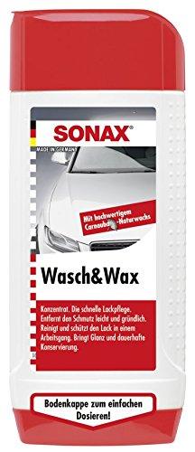 SONAX 313200 Wasch & Wax, 500ml