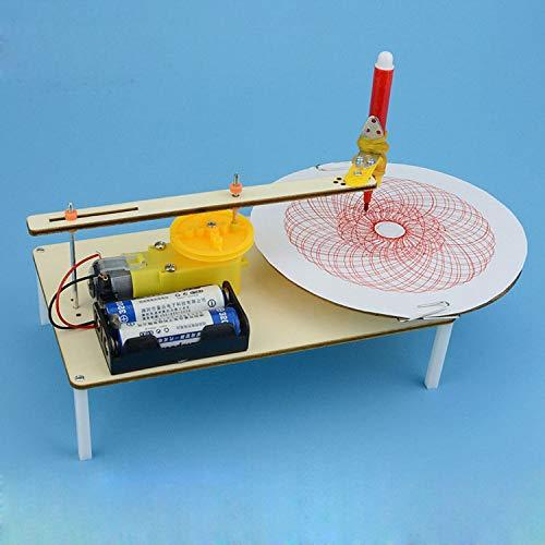 TOOGOO DIY Puzzle Assembled Kits Kids Graffiti Gizmo Electric