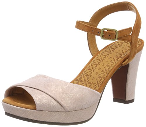 Chie Mihara Women's Edurnia Ankle Strap Sandals Multicolor (Danna Nude-ante Biscuit) fZYz8H