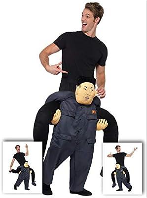 Fancy Dress Four Less Disfraz de dictator Kim Jong Un North Korea ...