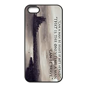 iPhone 5,5S Phone Case Black Game of Thrones ZKH9367153