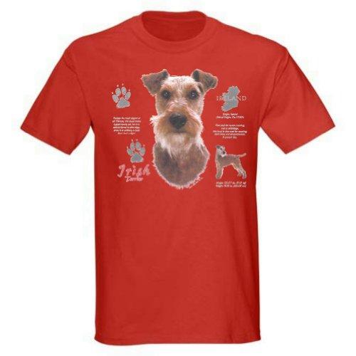 Irish Terrier T-Shirt (XLarge, Red) - T-shirt History Terrier