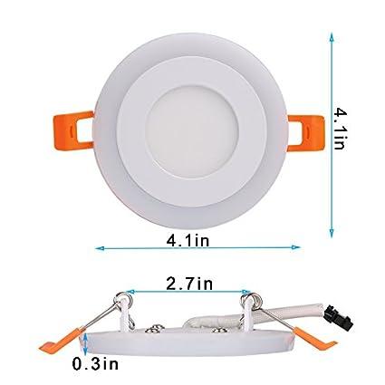 2 Pack)Maigel LED Einbaustrahler Schwenkbar Deckeneinbaustrahler ...