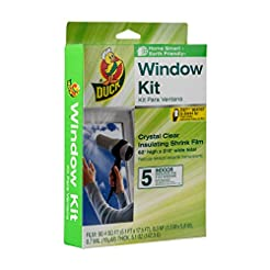 Duck Brand Indoor 5-Window Shrink Film I...