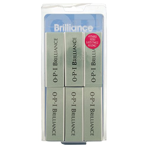 OPI Brilliance Block, 6 Count