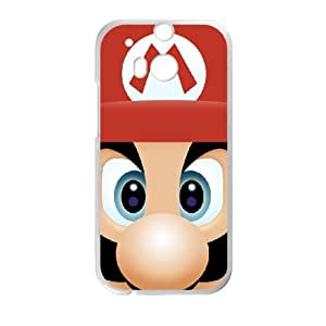 HTC One M8 Cell Phone Case White Super Mario Bros SUX_971375
