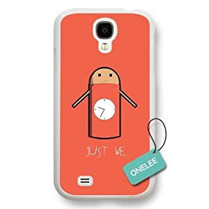 Onelee(TM) Japanese anime Gintama Just We Samsung Galaxy S4 Case & Cover - White04 by supermalls