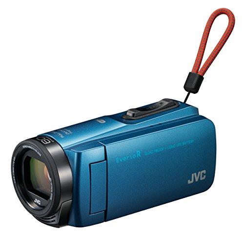 JVCKENWOOD JVC Camcorders Everio R Wi-Fi 64GB GZ-RX670-A Aqua Blue by JVC