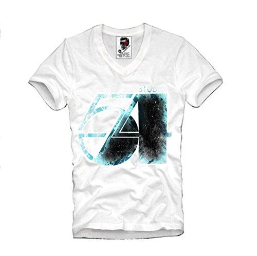 e1syndicate-mens-v-neck-t-shirt-vintage-studio-54-disco-andy-warhol-eleven-s-m-l-xl