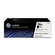 HP LaserJet 36A Print Cartridge - Retail Packaging - Dual Pack - Black