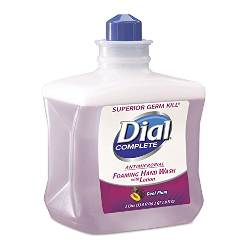 1l Refill Bottle - DIA81033 - Foaming Hand Wash Refill, Cool Plum Scent, 1l Bottle