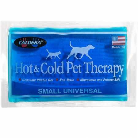 Caldera Pet Therapy Universal Gel Pack, Small, bluee