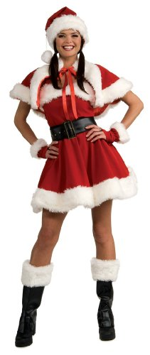 Secret Wishes Sexy Miss Santa Costume