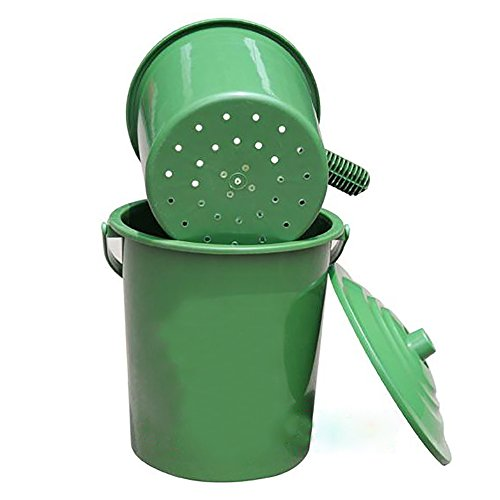 Compost bucket Composting Fruit Kitchen Waste Fermentation 8L by Mr Garden